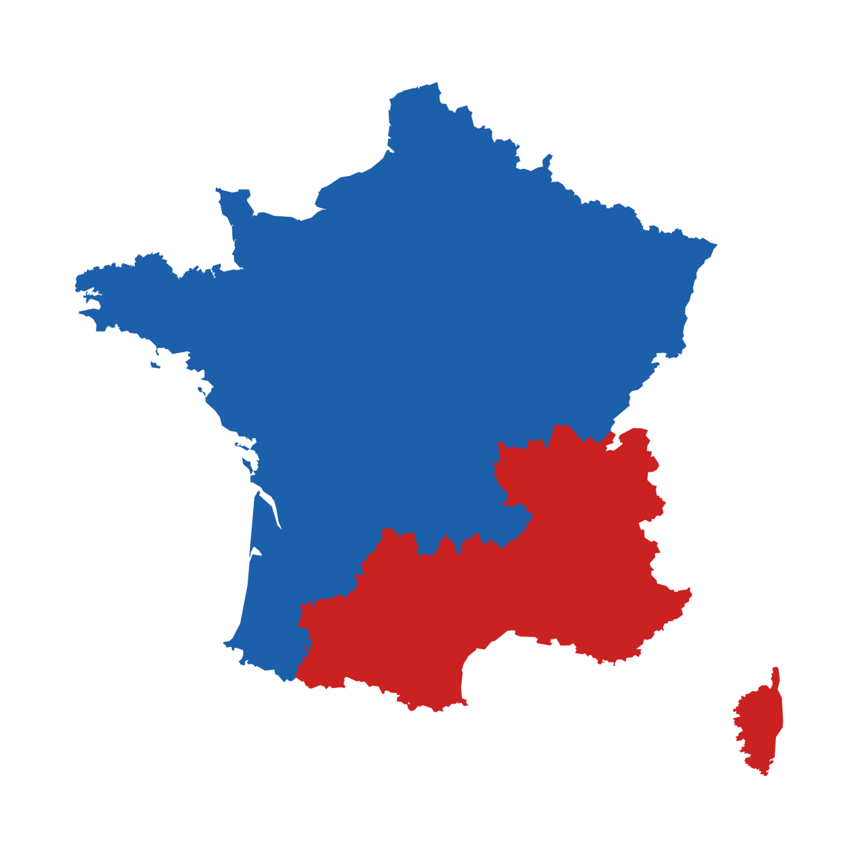 Zone géographique intervention